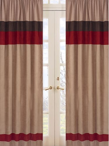 All Star Sports Window Treatment Panels - Set of 2 - Click to enlarge