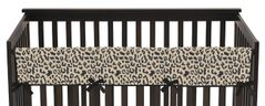 Animal Safari Baby Crib Long Rail Guard Cover by Sweet Jojo Designs