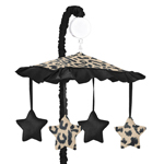 Animal Safari Crib Musical Mobile