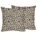 Animal Safari Decorative Accent Throw Pillows by Sweet Jojo Designs - Set of 2