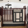 Animal Safari Pattern Jungle Baby Bedding - 11pc Crib Set