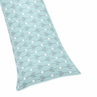 Arrow Full Length Double Zippered Body Pillow Case Cover for Sweet Jojo Designs Earth and Sky Sets