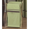 Baby and Kids Clothes Green and Brown Hotel Laundry Hamper by Sweet Jojo Designs
