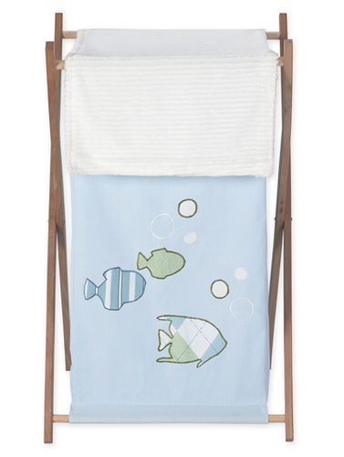 Baby and Kids Clothes Laundry Hamper for Go Fish Bedding Sets - Click to enlarge