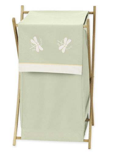 Baby and Kids Clothes Laundry Hamper for Green Dragonfly Dreams Bedding - Click to enlarge