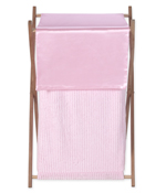 Baby and Kids Clothes Laundry Hamper for Pink Chenille Bedding