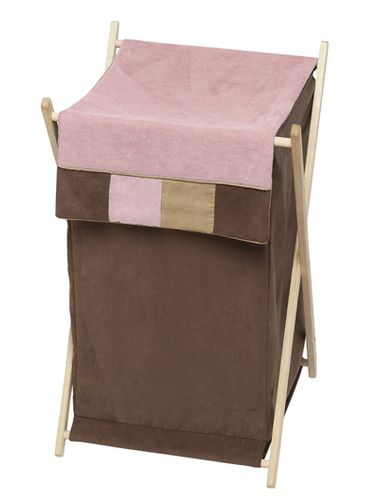Baby and Kids Clothes Laundry Hamper for Soho Pink Bedding by Sweet Jojo Designs - Click to enlarge