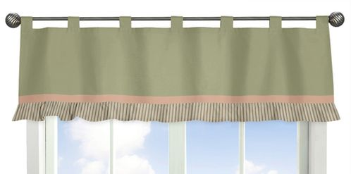 Baby Annabel Window Valance - Click to enlarge