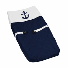 Baby Changing Pad Cover for Anchors Away Nautical Collection by Sweet Jojo Designs