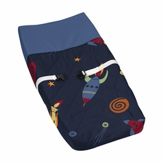 Baby Changing Pad Cover for Space Galaxy Collection by Sweet Jojo Designs