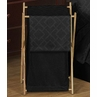 Baby/Kids Clothes Laundry Hamper for Black Diamond Jacquard Modern Bedding by Sweet Jojo Designs