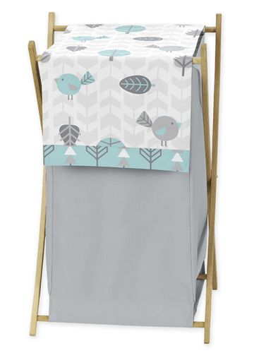 Baby/Kids Clothes Laundry Hamper for Earth and Sky Bedding - Click to enlarge