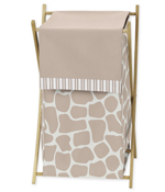 Baby/Kids Clothes Laundry Hamper for Giraffe Bedding by Sweet Jojo Designs