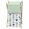 Baby/Kids Clothes Laundry Hamper for Grey, Navy Blue and Mint Woodland Arrow Bedding by Sweet Jojo Designs