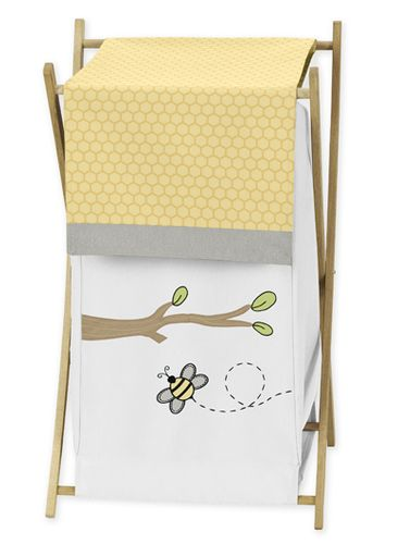 Baby/Kids Clothes Laundry Hamper for Honey Bee Bedding by Sweet Jojo Designs - Click to enlarge