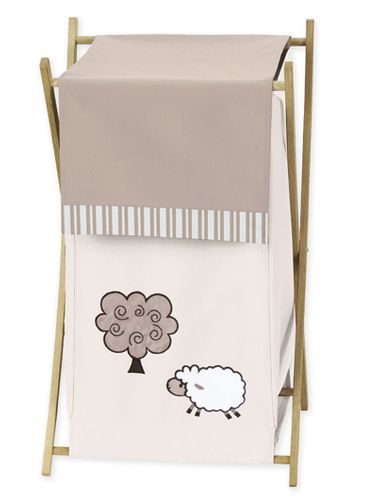 Baby/Kids Clothes Laundry Hamper for Little Lamb Bedding by Sweet Jojo Designs - Click to enlarge