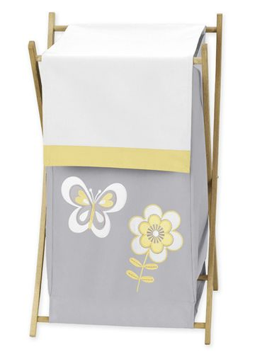 Baby/Kids Clothes Laundry Hamper for Mod Garden Bedding by Sweet Jojo Designs - Click to enlarge