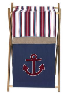 Baby/Kids Clothes Laundry Hamper for Nautical Nights Bedding Sets