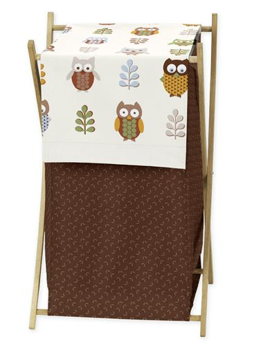 Baby/Kids Clothes Laundry Hamper for Night Owl Bedding - Click to enlarge