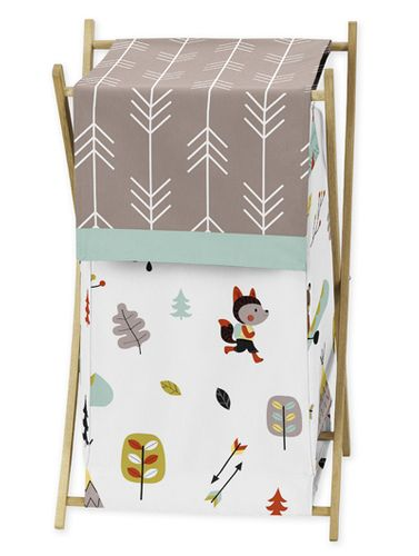 Baby/Kids Clothes Laundry Hamper for Outdoor Adventure Bedding - Click to enlarge