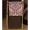 Baby/Kids Clothes Laundry Hamper for Pink and Chocolate Nicole Bedding by Sweet Jojo Designs