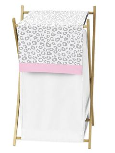 Baby/Kids Clothes Laundry Hamper for Pink and Gray Kenya Bedding by Sweet Jojo Designs
