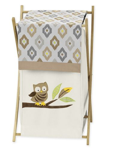 Baby/Kids Clothes Laundry Hamper for Safari Outback Jungle Bedding by Sweet Jojo Designs - Click to enlarge