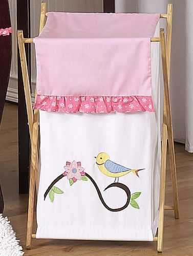 Baby/Kids Clothes Laundry Hamper for Song Bird Bedding by Sweet Jojo Designs - Click to enlarge