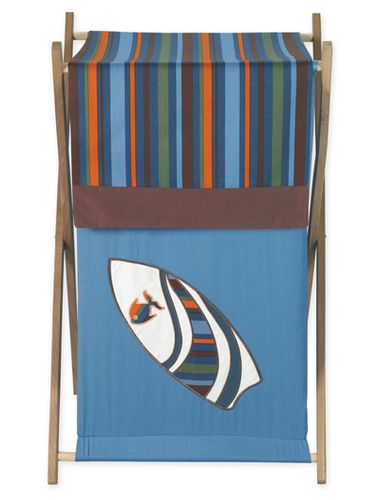 Baby/Kids Clothes Laundry Hamper for Tropical Hawaiian Surf Bedding - Click to enlarge