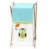 Baby/Kids Clothes Laundry Hamper for Turquoise and Lime Hooty Owl Bedding by Sweet Jojo Designs