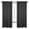 Black and White Arrow Window Treatment Panels Curtains by Sweet Jojo Designs - Set of 2 - Woodland Rustic Country Farmhouse Lumberjack