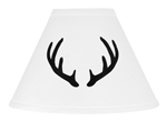 Black and White Rustic Deer Lamp Shade for Woodland Camo Collection by Sweet Jojo Designs
