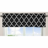 Black and White Trellis�Collection Window Valance by Sweet Jojo Designs