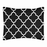 Black and White Trellis Pillow Sham by Sweet Jojo Designs