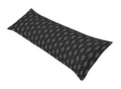 Black and White Woodland Arrow Body Pillow Case Cover by Sweet Jojo Designs (Pillow Not Included) - Rustic Country Farmhouse Lumberjack