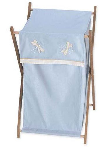Blue Dragonfly Dreams Baby and Kids Clothes Laundry Hamper - Click to enlarge