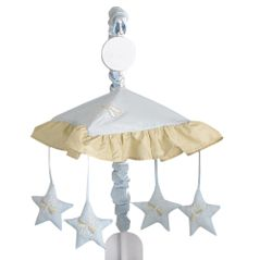 Blue Dragonfly Dreams Musical Crib Mobile
