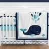 Blue Whale - 9 Piece Baby Boy or Girl Bedding Crib Set by Sweet Jojo Designs