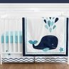 Blue Whale Baby Boy or Girl Bedding - 11pc Crib Set by Sweet Jojo Designs