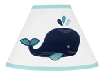 Blue Whale Lamp Shade by Sweet Jojo Designs