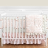 Blush Pink, Gold and White Amelia Baby Bedding - 9pc Girls Crib Set by Sweet Jojo Designs