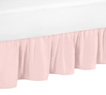 Blush Pink Queen Bed Skirt for Amelia Bedding Sets