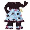 Boutique Kitty Cat Baby Girls Infant 2pc Set or Dress by Sweet Jojo Designs