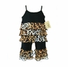 Boutique Rhumba Leopard Print 2pc Outfit by Sweet Jojo Designs