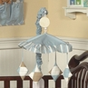 Brown and Blue Argyle Musical Crib Mobile by Sweet Jojo Designs