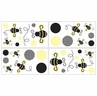 Bumblebee Baby and Kids Wall Decal Stickers - Set of 4 Sheets