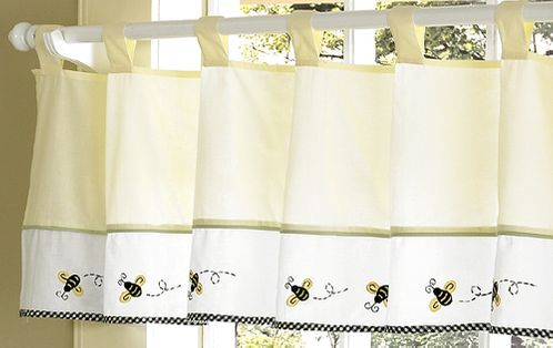 Bumblebee Window Valance - Click to enlarge