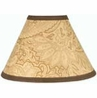 Camel and Chocolate Paisley Lamp Shade