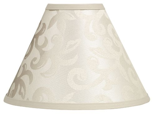 Champagne and Ivory Victoria Lamp Shade by Sweet Jojo Designs - Click to enlarge
