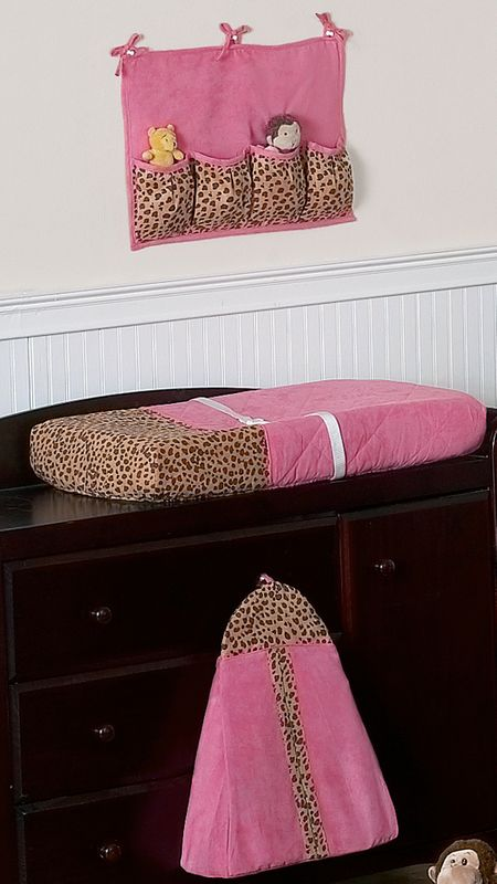 Cheetah Girl Pink And Brown Baby Bedding 9 Pc Crib Set Only 189 99